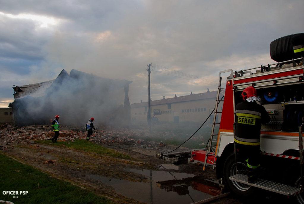 hala wyburzenie straz pozarna 1024x688 - Pożar w owczarni