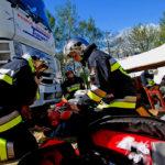 strazacy pierwsza pomoc wypadek 150x150 - W kadrze