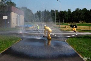 kurtyny wodne rozstawianie 300x202 - Ćwiczenie obronne