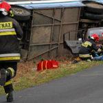 wypadek autobus strazacy pierwsza pomoc bieg 150x150 - W kadrze