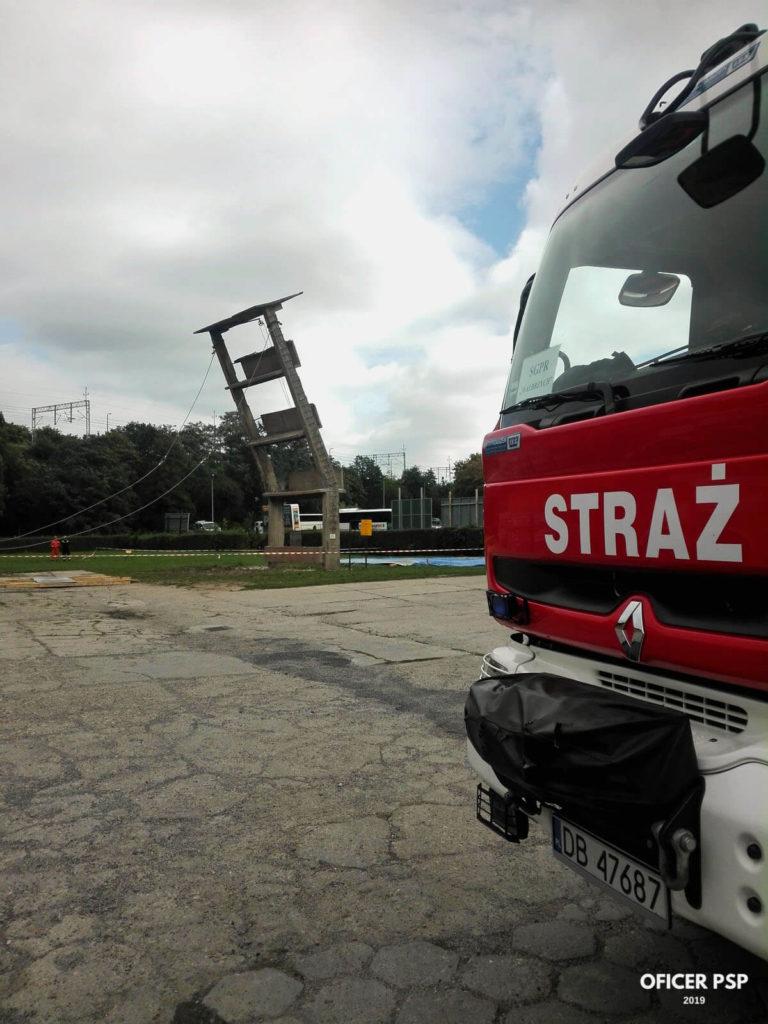 """cwiczenia grup psp pstraze 2019 8 768x1024 - Ćwiczenia ratownicze """"Pstrąże 2019"""""""